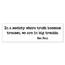 Truth is Treason Stickers