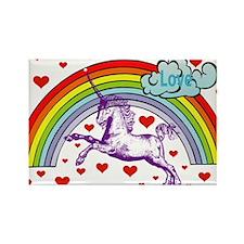 Unique Unicorn Rectangle Magnet (100 pack)