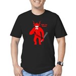 Dark Krampus Men's Fitted Shirt