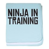 Ninja In Training baby blanket