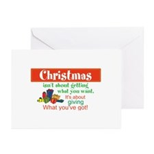 Christmas Isn't . . . Greeting Cards (Pk of 20)