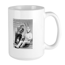 Mohammed's Imaginary Friend Mug, large