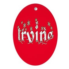 Irvine Ornament (Oval)