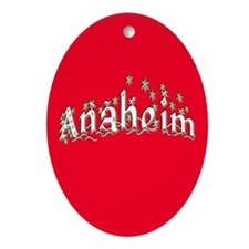 Anaheim Ornament (Oval)