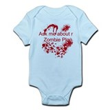 Zombie Plan Infant Bodysuit