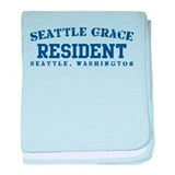 Resident - Seattle Grace baby blanket