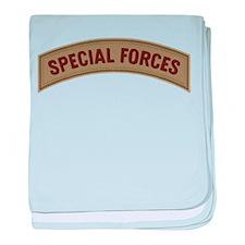 Special Forces(Desert) baby blanket