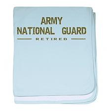 Retired Guard baby blanket