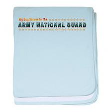 My Army Guard Boy baby blanket