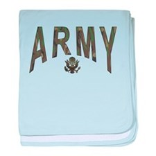 Army & Eagle baby blanket