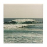 Big Surf Photo Victoria Tile Coaster