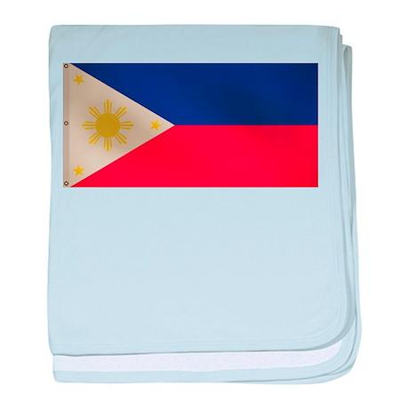 Philippine Flag baby blanket