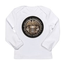 Federal Reserve Long Sleeve Infant T-Shirt