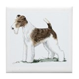 Fox Terrier Tile Coaster