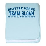 Team Sloan - Seattle Grace baby blanket