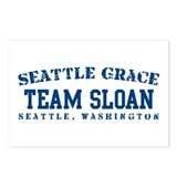 Team Sloan - Seattle Grace Postcards (Package of 8