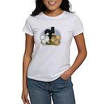 Silkie Chicken Trio Women's T-Shirt
