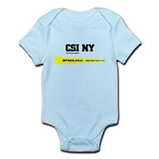 CSI NY Police Tape Infant Bodysuit