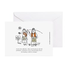 Irreverent Christmas Cards (Pk of 10)