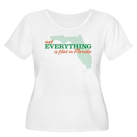 not everything is flat in flo Women's Plus Size Sc