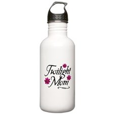 Twi Mom Flowers Water Bottle