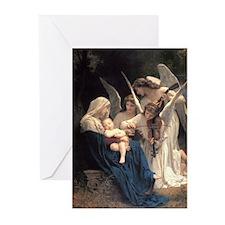 Cute Bouguereau Greeting Cards (Pk of 20)