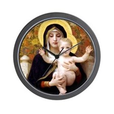 Funny Bouguereau Wall Clock
