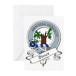 Bisset Clan Badge Greeting Cards (Pk of 10)
