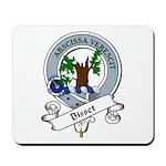 Bisset Clan Badge Mousepad