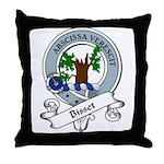 Bisset Clan Badge Throw Pillow