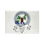 Bisset Clan Badge Rectangle Magnet (10 pack)