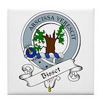 Bisset Clan Badge Tile Coaster