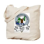 Bisset Clan Badge Tote Bag