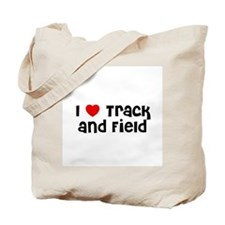 I * Track and Field Tote Bag