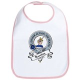 Barclay Clan Badge Bib