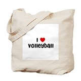 I * Volleyball Tote Bag