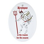 Krampus is the Reason for the Season tree ornament