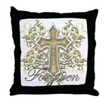 Forgiven Throw Pillow
