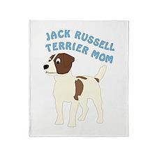 Terrier Mom Throw Blanket