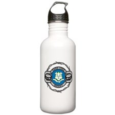 Connecticut Hockey Water Bottle