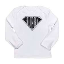 Super Hubby(metal) Long Sleeve Infant T-Shirt