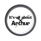 It's all about Arthur Wall Clock