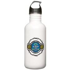 North Dakota Darts Water Bottle