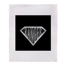 SuperRanger(metal) Throw Blanket