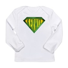 SuperKermit(Green) Long Sleeve Infant T-Shirt