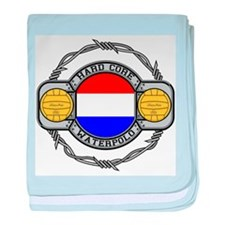 Netherlands Water Polo baby blanket