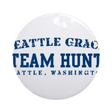 Team Hunt - Seattle Grace Ornament (Round)