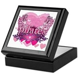 Peace Love Pilates by Svelte.biz Keepsake Box