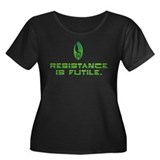 Star Trek - Borg Resistance Women's Plus Size Scoo