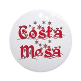 Costa Mesa Ornament (Round)